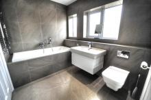 Refurbished bathroom with Laufen fittings