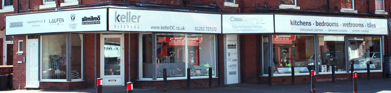 Keller's showroom in the centre of Lytham